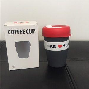 FAB travel coffee mug